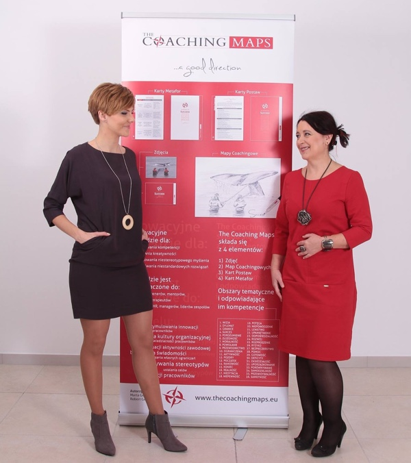The Coaching Maps amgasadorka Joanna Kaczmarczyk